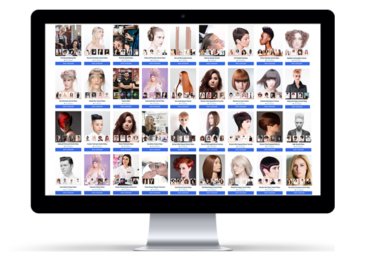 500+ hairdressing and barbering tutorials