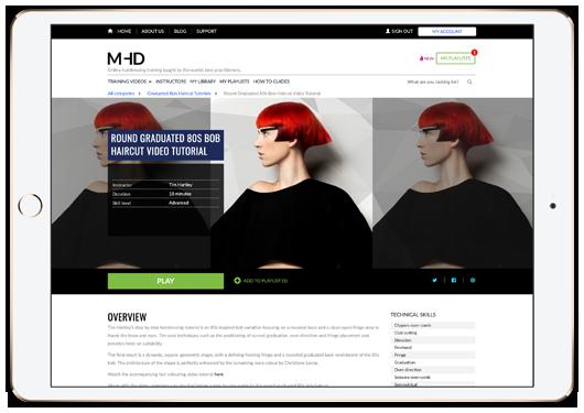MHD online training platform