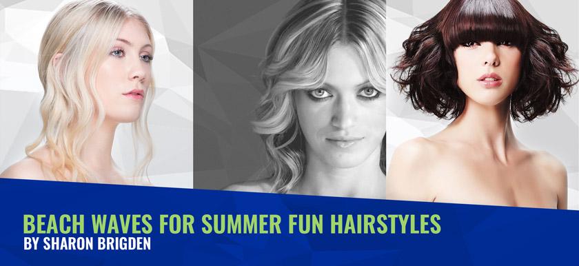 Beach Waves for Summer Fun Hairstyles