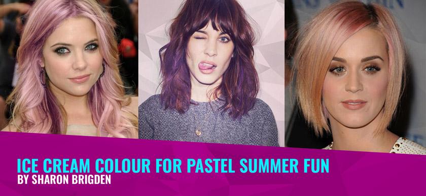 Ice Cream Colour for Pastel Summer Fun