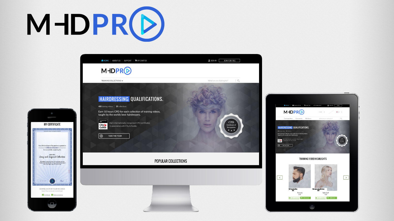 win online hairdressing courses at the nhf stylist of the year · mhd pro online hairdressing courses