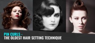 Pin Curls – The oldest hair setting technique