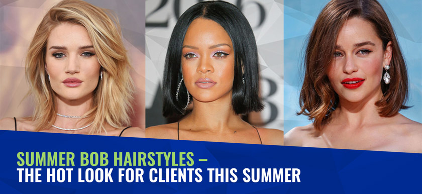 Summer Bob Hairstyles - the hot look for clients this summer ...