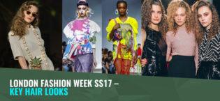London Fashion Week SS17 – Key Hair Looks