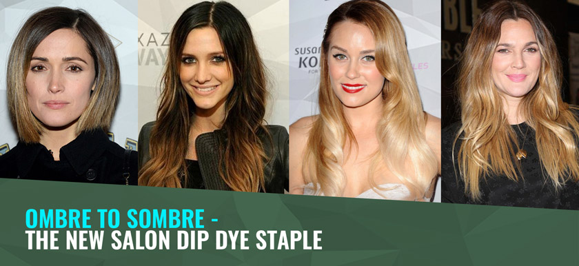 Ombre to Sombre – the new salon dip dye staple