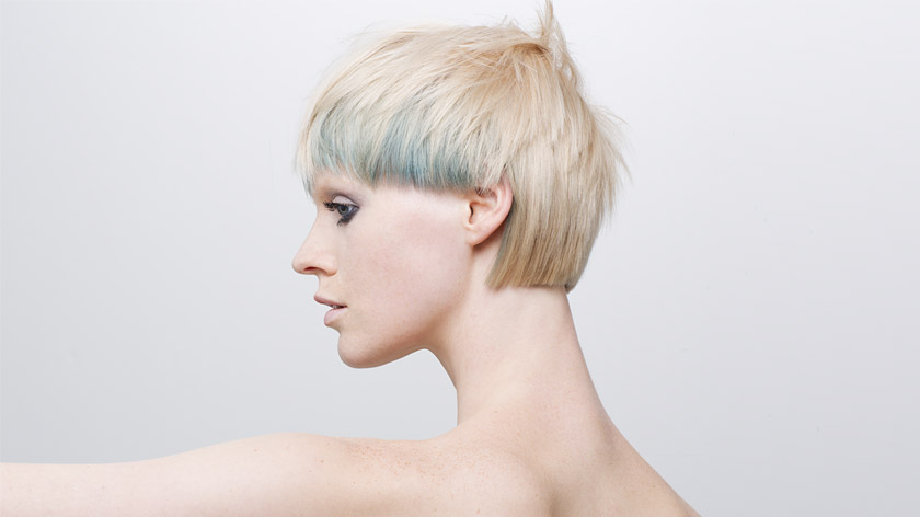 Combination of one length, graduation and layering by Alexander Dinter
