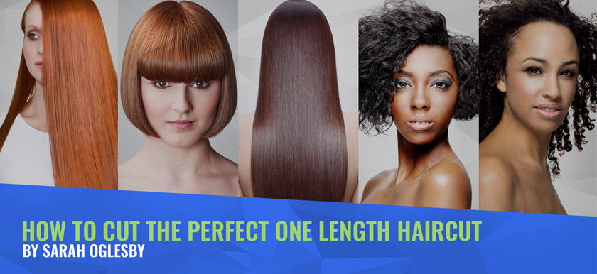 How To Cut The Perfect One Length Haircut Mhd