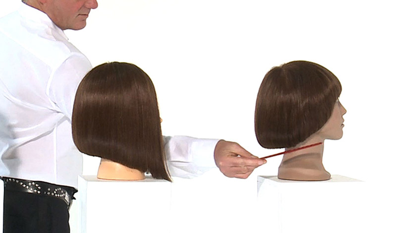 Curved One Length Haircut