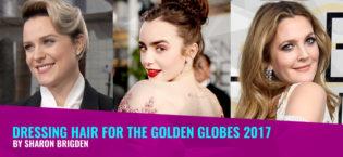 Dressing Hair for the Golden Globes 2017