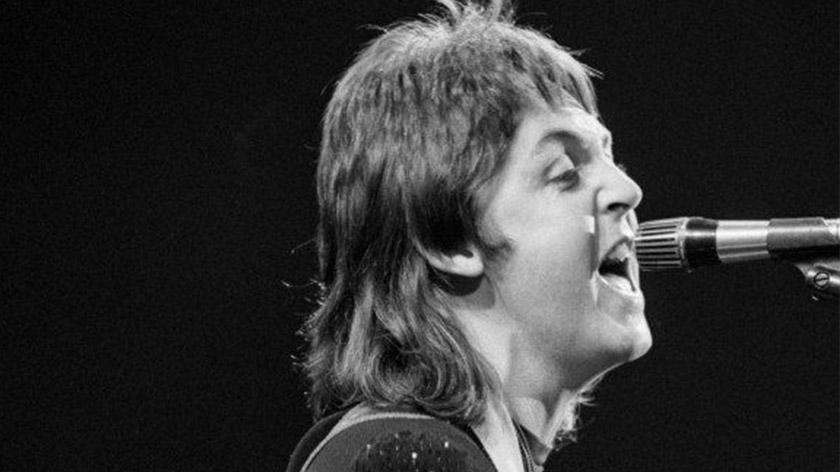 Paul McCartney mullet haircut