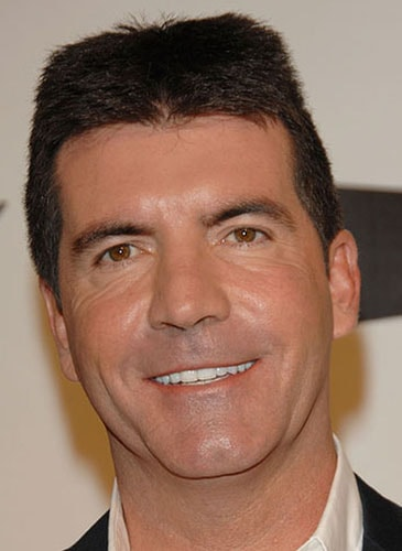bad celebrity hairstyles, Simon Cowell