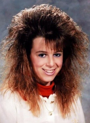 Terrible 1980s Hairstyles Wash Rinse And Never Repeat Mhd