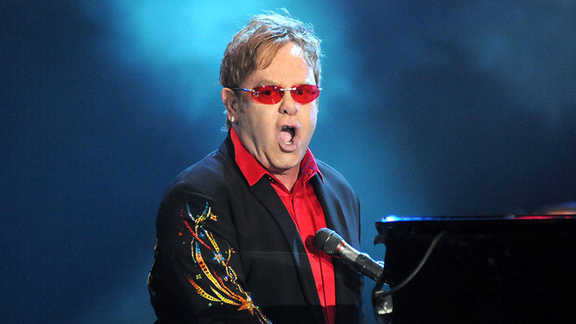 Elton John painted in 1869