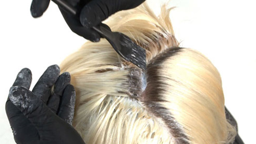 The process of bleaching the hair is called oxidisation.