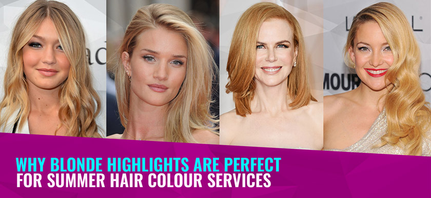Why Blonde Highlights are Perfect for Summer Hair Colour Services