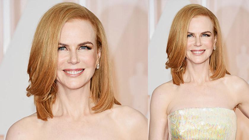 Nicole Kidman's copper blonde hair colour - GETTY