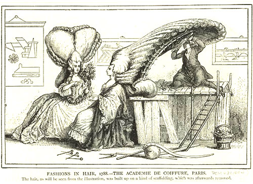 The Pouf was lampooned in newspapers, especially towards the start of the French Revolution
