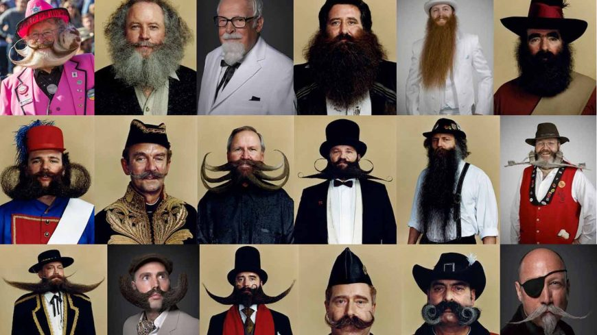 8 Epic Beards and Moustaches from the World Beard and Moustache Championships