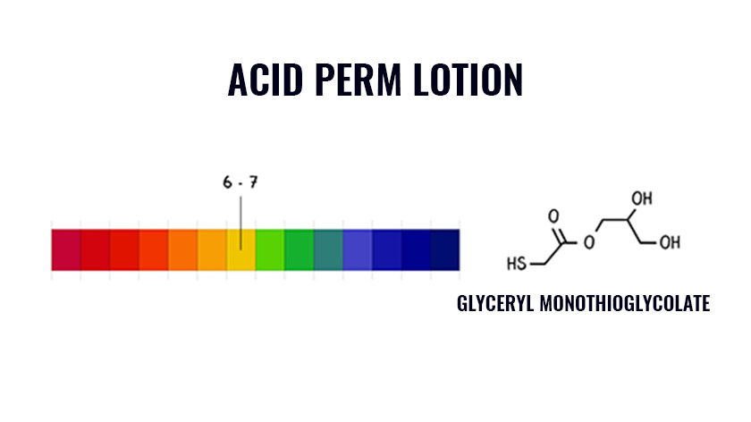 Acid perm lotion is gentler and has a pH value of approximately 6 to 7. Learn more in the ultimate beginners guide to perming.