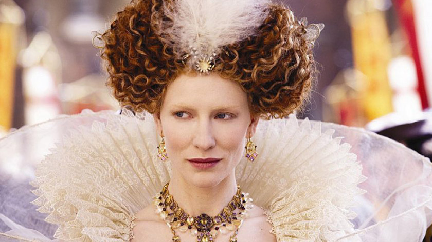 I wonder if Cate Blanchett's stylist used lard for this look?