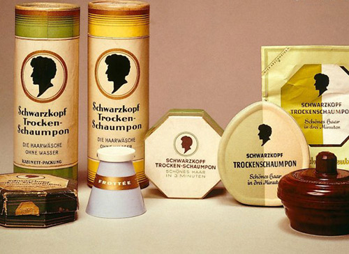 The world's first and hair care products from German chemist Hans Schwarzkopf