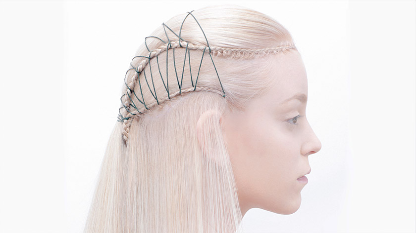 Learn this unique threading hairstyle with X-presion >>>