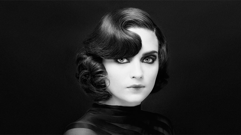 Find out how to create a Great Gatsby inspired hairdo with Sharon Blain's reverse pin curls hairstyle