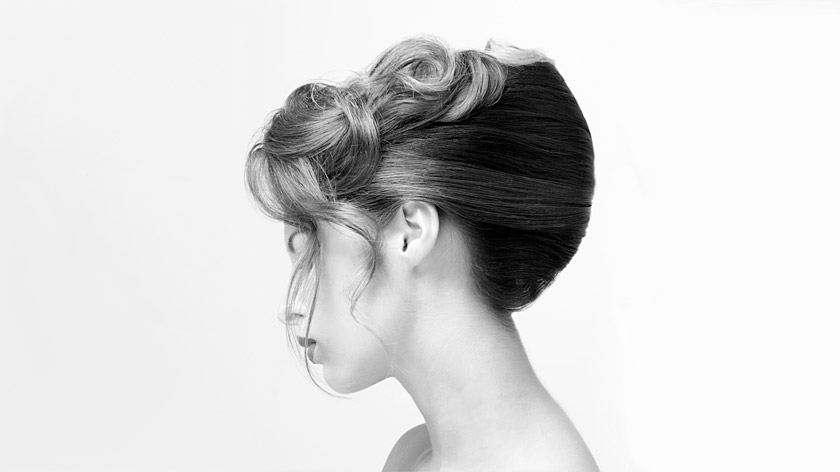 Learn why you will keep coming back to Sharon Blain's French roll up-do