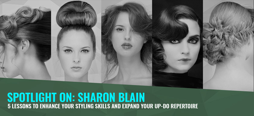 Expand your hair-up repertoire with Sharon Blain