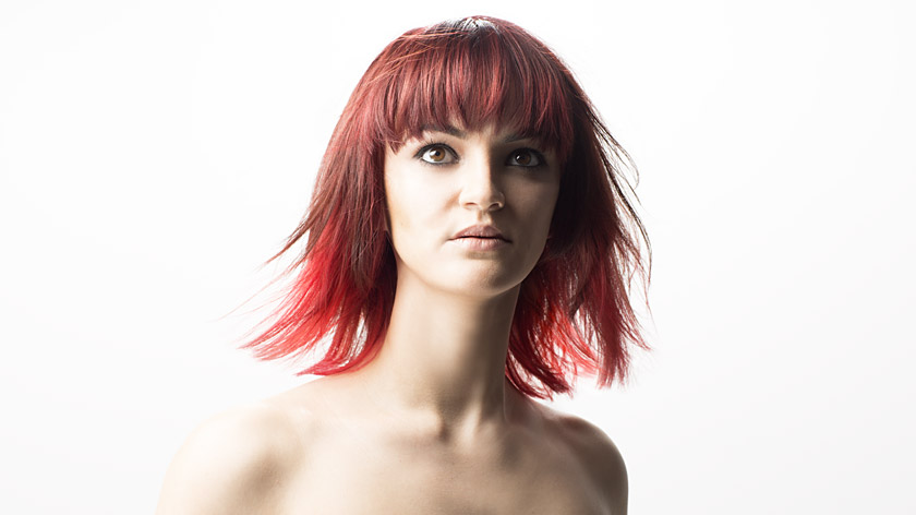 Find out how to create Madeleine Murphy's red multi-tonal dip-dye, popular with celebrities and younger clients