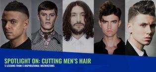 Spotlight on: Cutting Men's Hair