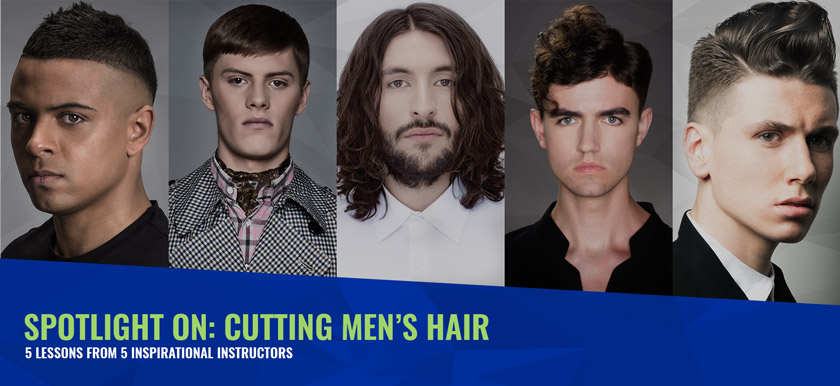 Spotlight on: Cutting Men's Hair