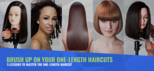 Brush Up On Your One-Length Haircuts