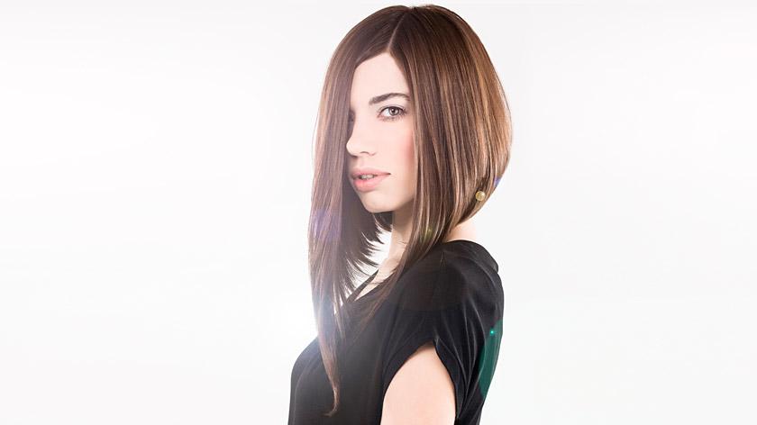 Long A-Line Shape Haircut