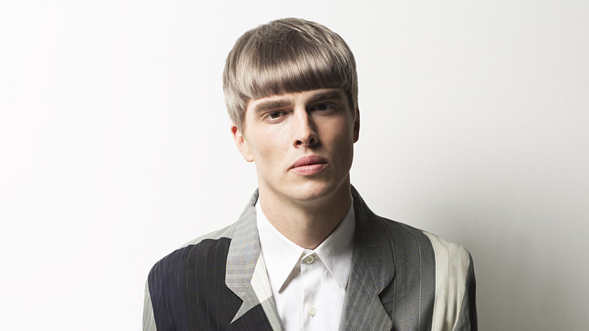 Apply A Backwash Grey Toner To Men's Hair By Christiano Lanza