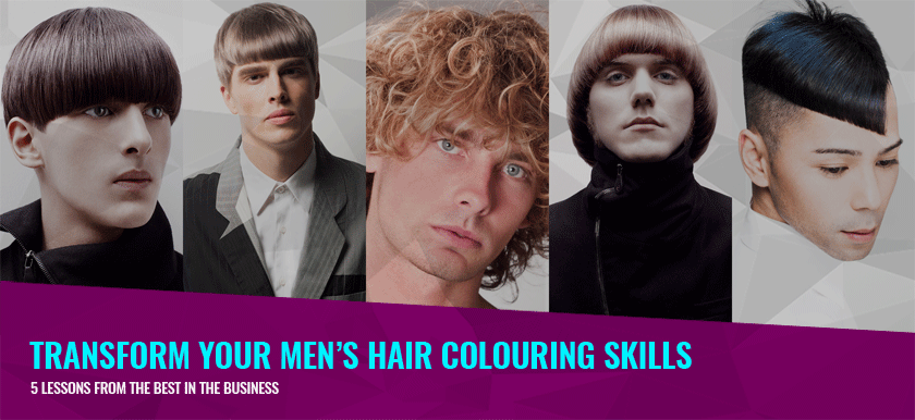 Transform Your Men's Hair Colouring Skills