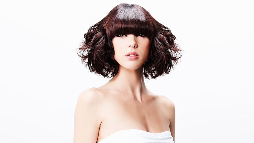 Mid Length Blow Dry With Fringe Placement By Snowden Hill