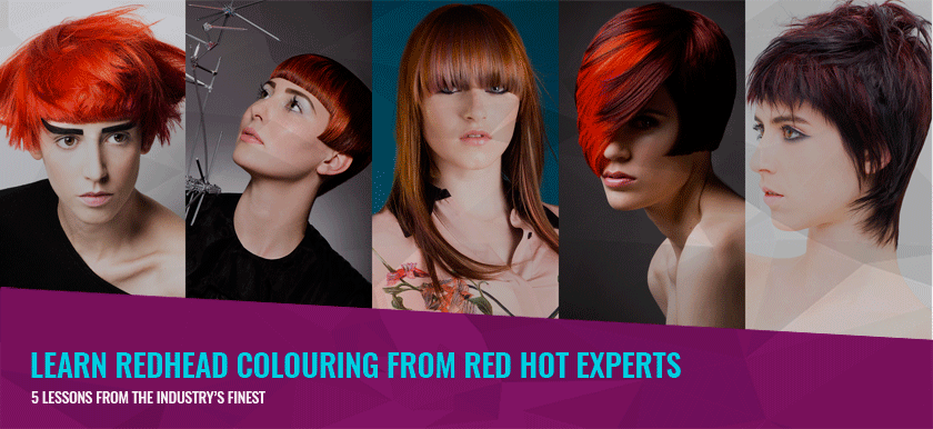 Redheads Rule – 5 Techniques to Make Your Colouring Skills Red Hot