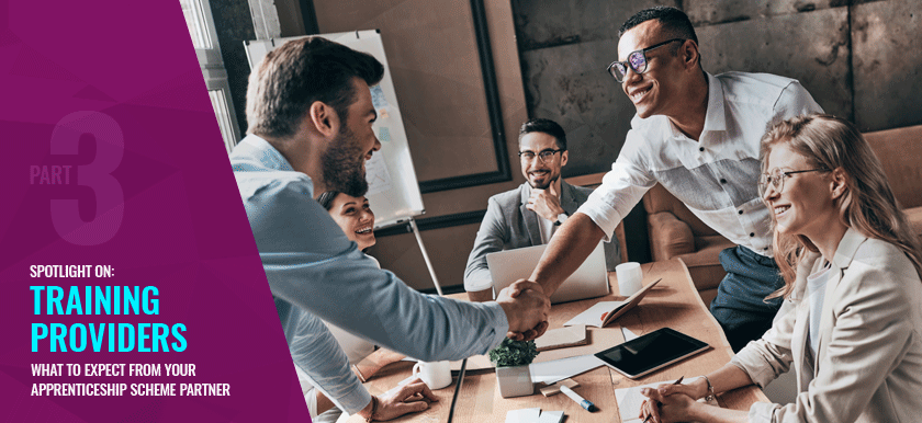 Apprentice Series – What To Expect From Your Training Provider