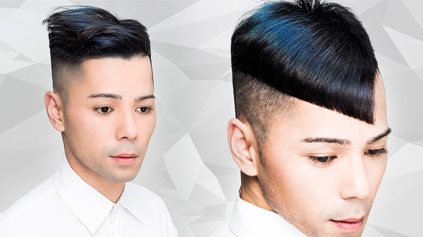 Gary Woo and Charmaine Piche's talents unite in this men's Total Look tutorial: