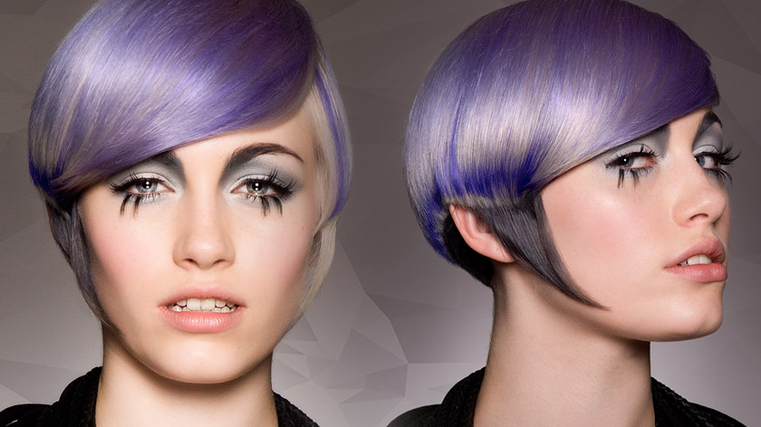 Tim Hartley & Tracy Hayes deliver the week's final creative Total Look: firefly with a splash of violet. Check it out: