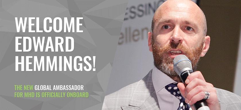 Introducing Our New Global Ambassador: Edward Hemmings
