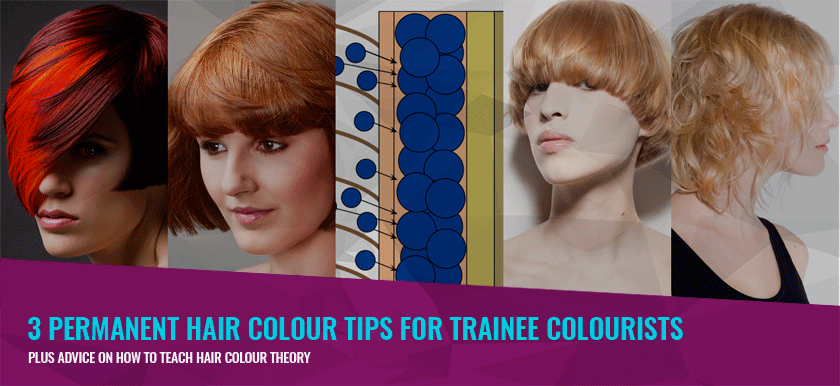 3 Permanent Hair Colour Tips For Trainee Colourists