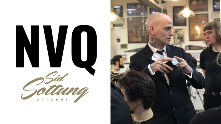 An NVQ in Barbering at the Sid Sottung Academy