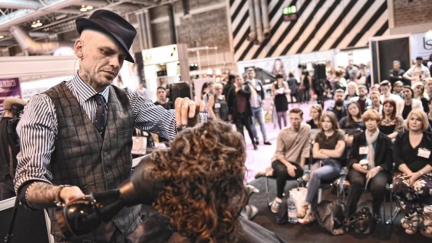 Sid Sottung Barbering Platform Artist