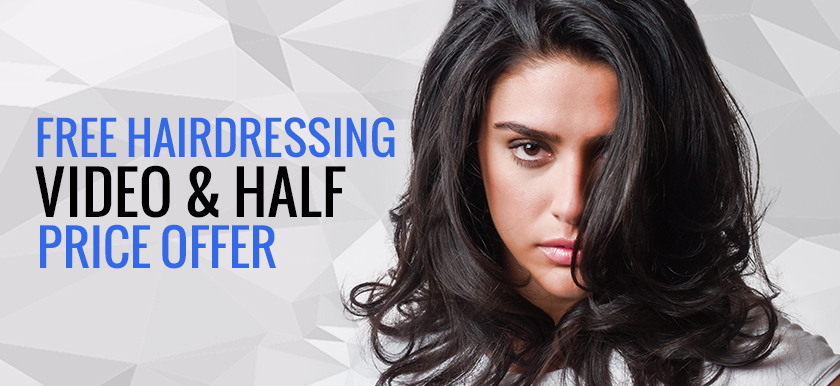 Free Hairdressing Video by Stacey Broughton + Half Price Offer