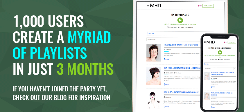 1,000 MHD Users Have Created Playlists – Let's Party!