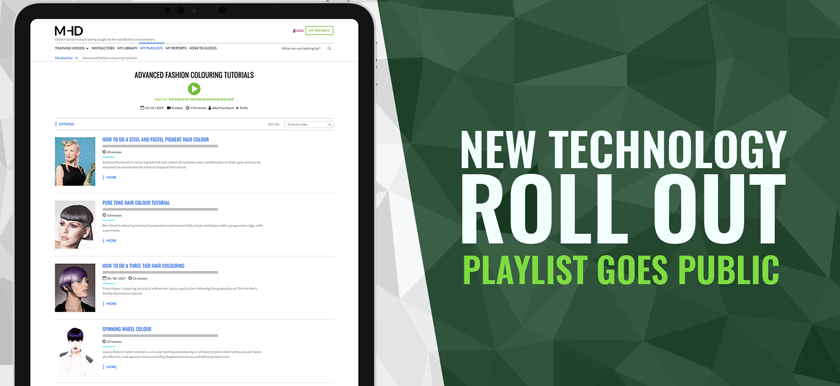 New Technology Roll Out | Playlist Goes Public